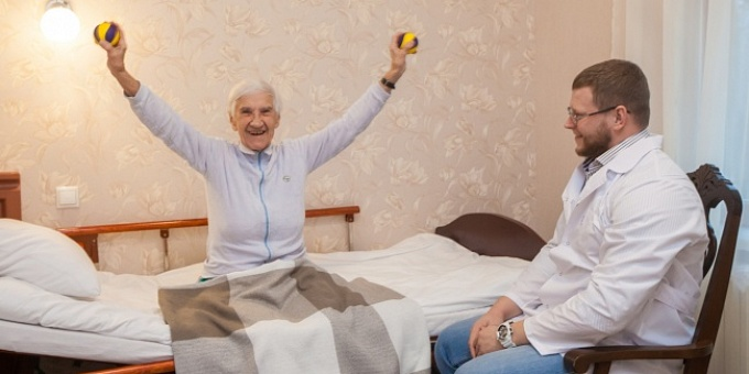 разработка мышц пенсионеров