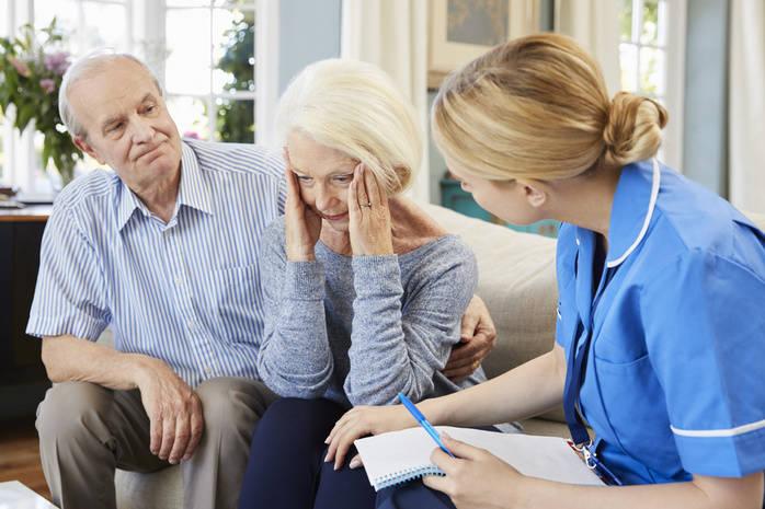 у бабушки деменция