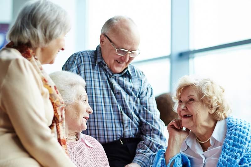 общение пенсионеров