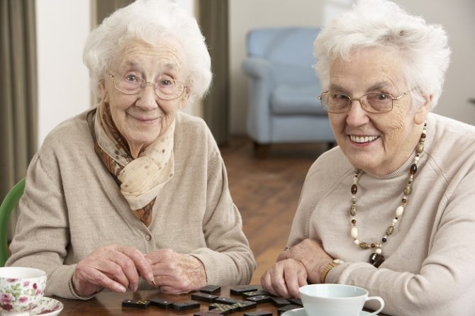 пенсионеры на реабилитации