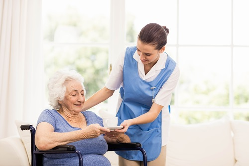 сиделка для инвалидов